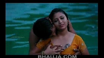 hot mamatha romance with boy friend in swimming.