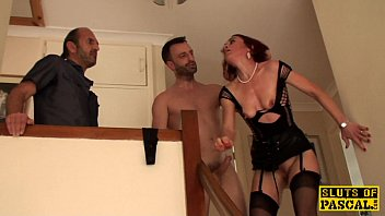 clitpierced uk sub pounded in ass.