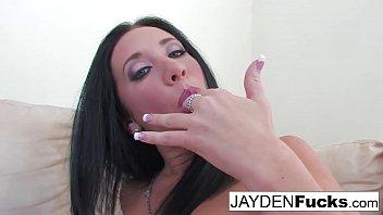 jayden jaymes shows off her hot.