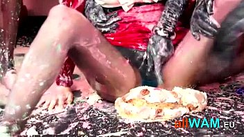 dirty birthday party for czech babes