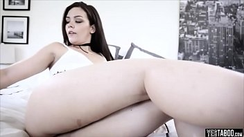 dominant stepdad fucks his cute stepdaughter in the ass
