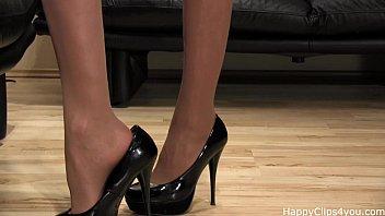 goddess milf shoe fetish high heels.