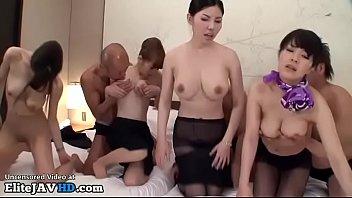 japanese hostess hardcore orgy - full.