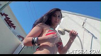 sexy latina blowjob