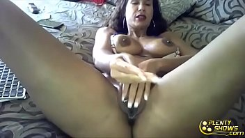 sexy milf  with oiled milf body and.