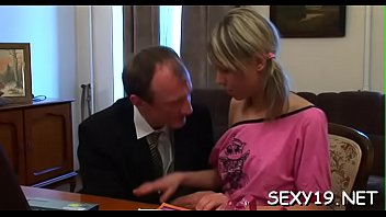 concupiscent old teacher is humping babe&#039_s taut anal tunnel