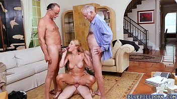 horny old guys bangs raylin anns.