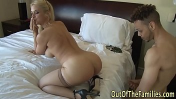 real busty milf has anal