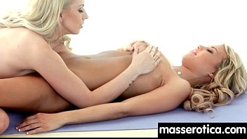 sensual oil massage turns to hot lesbian action 16