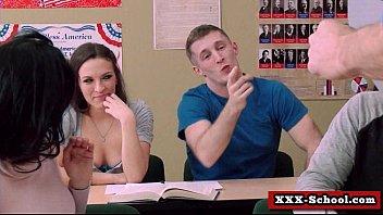 sexy teacher fucked at school 28