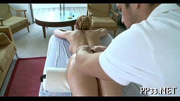 delighting playgirl with oil massage