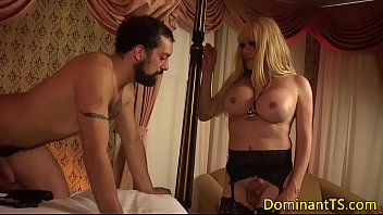 ts mistress assfucking her submissive hunk