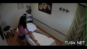 dude seduces horny massage therapist and fucks with her