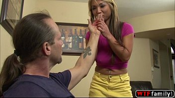 curvy blonde mia rider choke while her stepdad.