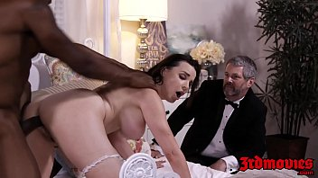 busty mistress dana dearmond rides cock while hubby watches