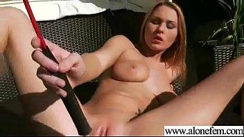 alone freak girl (antonya) play with her pussy.