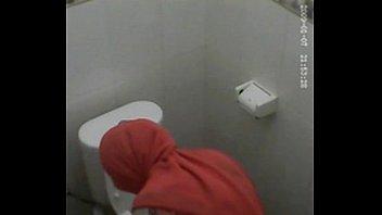 tudung hijab wc