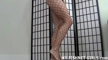 fishnet stockings make me feel like such a.