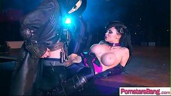 (aletta ocean) horny pornstar girl enjoy monster cock.