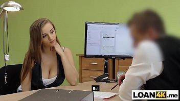 huge boobs milf crashed husbands car and needs.