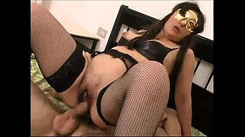 amateur slut in mask fucked and.