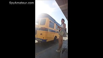 voyeur filming mexican prostitute on bus station for spyamateur.com