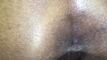 wet pussy getting the asshole ready