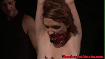 submissive milf tormented and dominated over