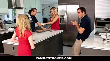 familystrokes - step sister sucks and fucks brother.