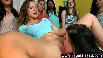 college teen pledges lick pussy