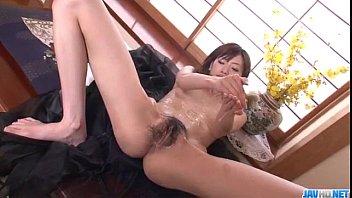 kanon hanai enjoys pleasure down her.