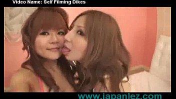 japanese lesbians film themselves fucking homemade!