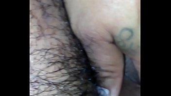 my white bbw ex cums on my brown.