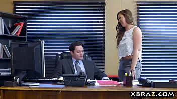 big ass office bitch gets anal drilled by.