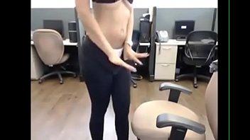 yasmin with big boobs goes solo on camera.