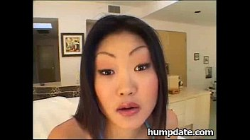 cute asian teen lucy gets nailed by big.