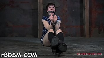 clamped playgirl gets her fuck holes pounded with toys