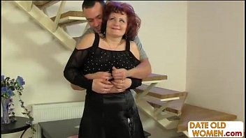 horny young guy fucks mature housewife.
