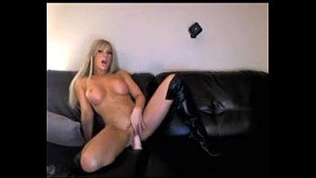 hot blonde rides dildo on cam on webcam -tinycam.org