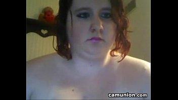 fat slut with her big tits.
