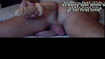str8 boy test dildo'_s girlfriend for.