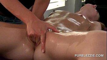 erotic lesbian massage turning into a.