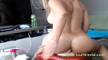 blonde camgirl makes money from squirting.