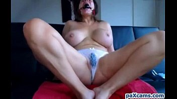 german babe with huge tits cums hard live.