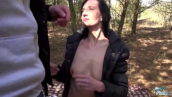 romantic picnic turns into raw cunt fucking and.