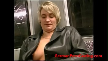 roleplay with a german milf in public transportation.