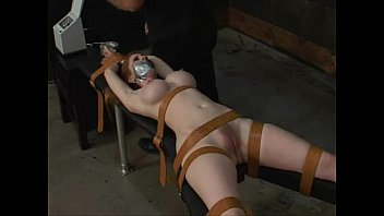 hardcore bondage tied natali demore forced.