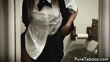 taboo schoolgirl doggystyled after classes