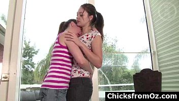 amateur aussie teen lesbians kissing and.