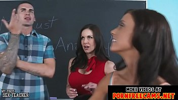 sexy teachers kendra lust and whitney westgate fucked.